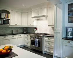 Glass Kitchen Backsplash Picture Of Light Brown And Dark Grey Glass Kitchen Backsplash