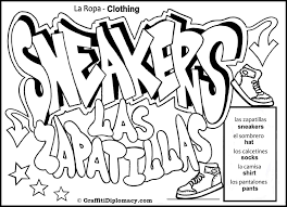 The majority of the letters in spanish have their own special names (some even have more than one!) and people use them all the time when spelling out words. Graffiti Letters Coloring Pages 3287 Coloring Pages For Teenagers Graffiti Coloringtone Book
