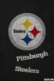 steelers logo with rough background for