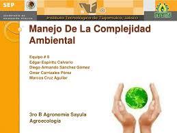 Manejo de la complejidad ambiental
