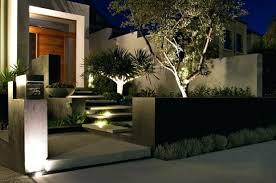 modern front landscape design