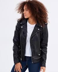 perfecto leather jacket by dead studios the iconic australia black de141aa76fxr