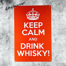 garage signs keep calm and drink whisky vintage metal sign shabby chic bar wall decor garage
