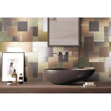 Metal Wall Tiles For Kitchen Metal Backsplash Tiles For Kitchen Or Bath 12x12 In 1 Box 97 Sqft