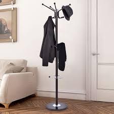 hat tree rack. Plain Hat Giantex Metal Coat Rack Hat Tree Stand Clothes Holder Umbrella Bag Hanger  Hall Modern Living Room In