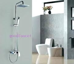 rain shower with handheld showers combo modern faucet set head bath tub hand held sprayer and