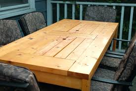 outdoor table plans patio table with built in beer wine coolers with lids covered outdoor wood folding table plans free