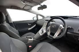 Toyota Prius Plug-in 2012 Interior – Front Seat Driver