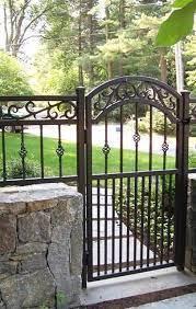 iron garden gates wrought iron fences