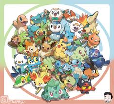 I drew all the Starter Pokemon. Hope you all like! Gen 1 2 3 4 5 6 7 Lets  Go and 8. Im so excited for Pokemon S… | Pokemon, Cute pokemon wallpaper, Pokemon  starters