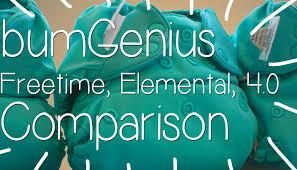 Bumgenius Color Chart 2017 Bumgenius Freetime New Elemental And 4 0 Comparison Video