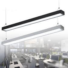 office pendant light. Led Office Pendant Light Tube Panel Kitchen Hanging Lighting Lamp R
