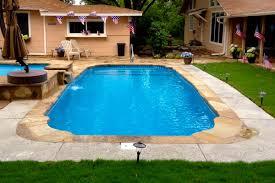 inground fiberglass swimming pool