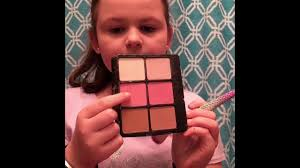 10 year old makeup tutorial using ulta beauty 72 piece collection macey marley
