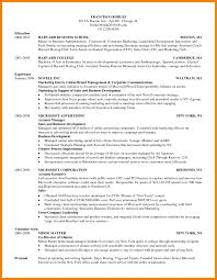 Business School Resume Template Tomyumtumweb Com