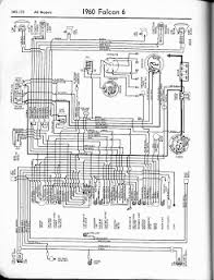 auto wiring diagram  this is 1960 ford falcon v6 wiring diagram for all models click the picture to downlo
