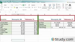 Align Charts In Excel How To Modify Cell Alignment Indentation In Excel