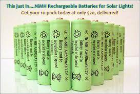 NiMH Batteries « Your Solar Link BlogSolar Garden Lights Batteries Rechargeable