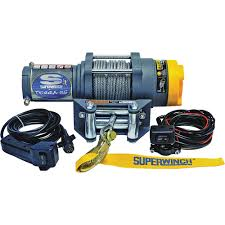 superwinch 12 volt dc powered electric atv winch 2500 lb superwinch 12 volt dc powered electric atv winch 2500 lb capacity wire