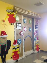 gingerbread house wall decoration beautiful minion gingerbread door decorations