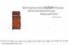 The De-Clutter Center from Postconsumers.com via Relatably.com
