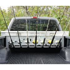 pick up truck rod holder toolbox mount