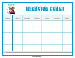 14 Best Photos Of Printable Behavior Charts Free Printable