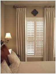 Custom Window Panels U0026 Curtains  Budget BlindsBlinds In Bedroom Window