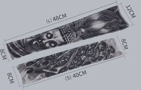 2019 Arm Sleeves Sunscreen Elastic Nylon Tattoo Sleeve <b>1 pc</b> Arm ...