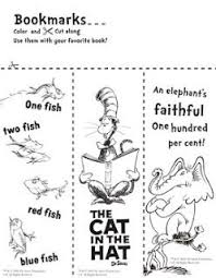 You can print or color them online at getdrawings.com for absolutely free. Dr Seuss Bookmarks To Color Library Learners Dr Seuss Activities Seuss Classroom Dr Seuss Day