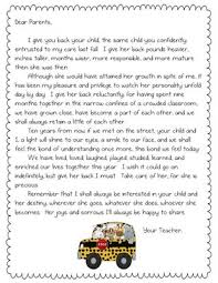 letter from teacher to parents awesome collection of parent letter from teachers insrenterprises
