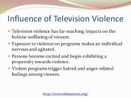 television violence and violent behavior  5 influence of television violence