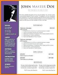 Cv Format It Professional Resume Format It Professional Wikirian Com