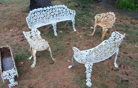 White cast iron patio furniture Shabby Chic Furniture Patio Cast Iron Wrought Inspirational Vintage Manufacturers Recognizealeadercom Furniture Patio Cast Iron Wrought Rod Vintage Sets Old