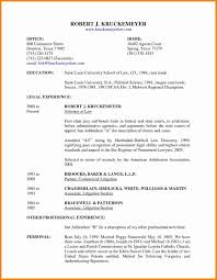 Junior Attorney Resume Sample Beautiful Resume For Law Enforcement