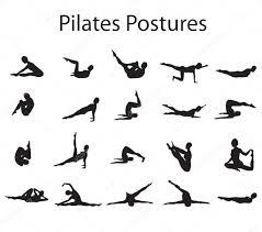 pilates houdingen