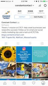 constant contact instagram agorapulse media