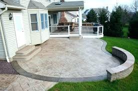 backyard concrete ideas ideas for old concrete patio large size of backyard design inside lovely patio