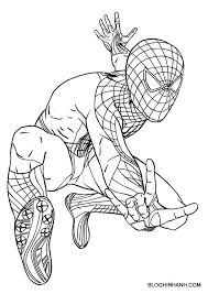 Free Printable Spiderman Coloring Pages For