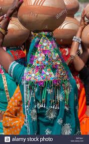 Abhaneri Rajasthan Inde Paillettes Multicolores Dune