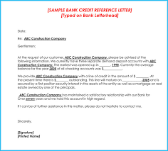 Credit Letter Sample - April.onthemarch.co