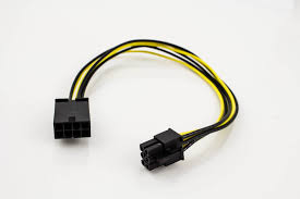 pci express power adapter cable 8p male to 6p female pactech PCI Express Card Slot at Pci Express Wiring Diagram