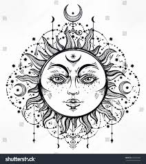Sun And Moon Coloring Pages 0 Betweenpietyanddesirecom