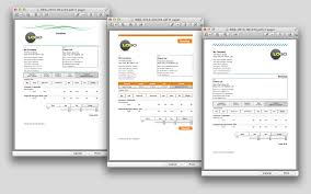 Invoice Templates For Macs Free Invoice Template For Mac And Best With Textedit Plus Simple