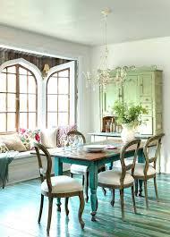 coastal round dining table