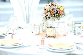 Round Table Settings For Weddings Wedding Centerpieces For Round Tables Ideas Square Adorable