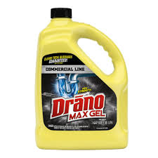 drano 1 gal max gel clog remover