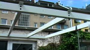 Klöters Terrassenüberdachung - Youtube