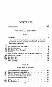 the social contract and discourses online library of liberty original table of contents or first page