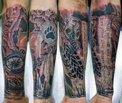 правый рукав пока готова половина сообщество Tattoo на Drive2
